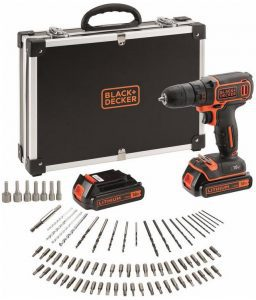 Black & Decker accuboormachine BDCDC18BAFC-QW / Deze Black & Decker boormachine kopen?