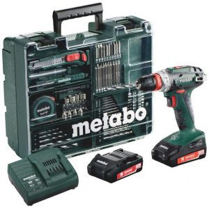 Metabo BS 18 Quick Mobile accuboormachine