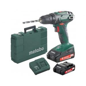 Metabo BS 18 2,0 Ah accuboormachine
