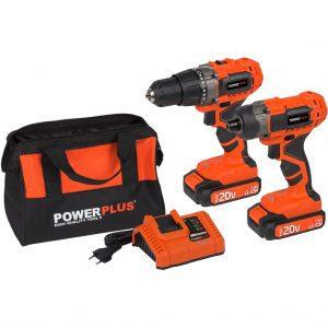 Powerplus Dual Power POWDP1550 slagschroevendraaier accuboormachine
