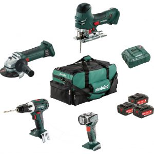 Metabo Combiset bouw en renovatie - 4 machines