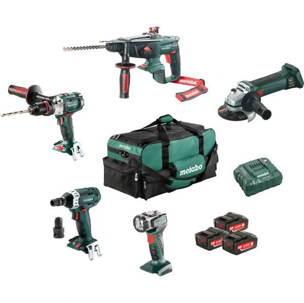 Metabo Combiset bouw en renovatie - 5 machines