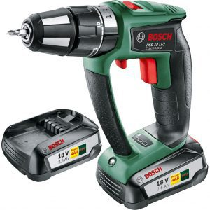 Bosch PSB 18 LI-2 Ergonomic accuboormachine