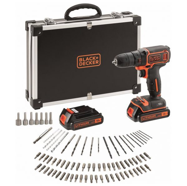 Black en Decker BDCDC18BAFC-QW accuboormachine