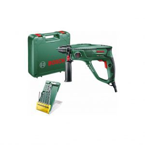 Bosch PBH 2100 RE boorhamer en 6-delige SDS-Plus borenset