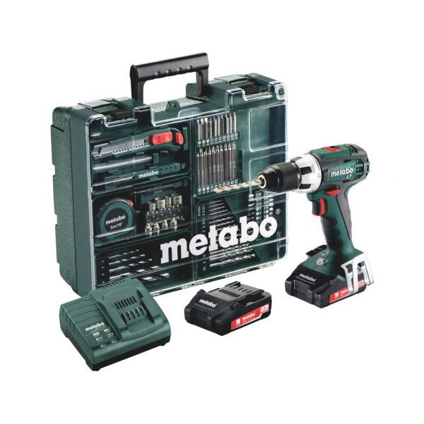 Metabo BS 18 LT Mobile accuboormachine
