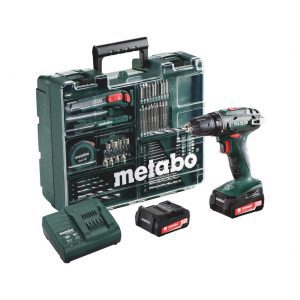 Metabo BS 18 Quick Mobile accuboormachine en accessoirekoffer