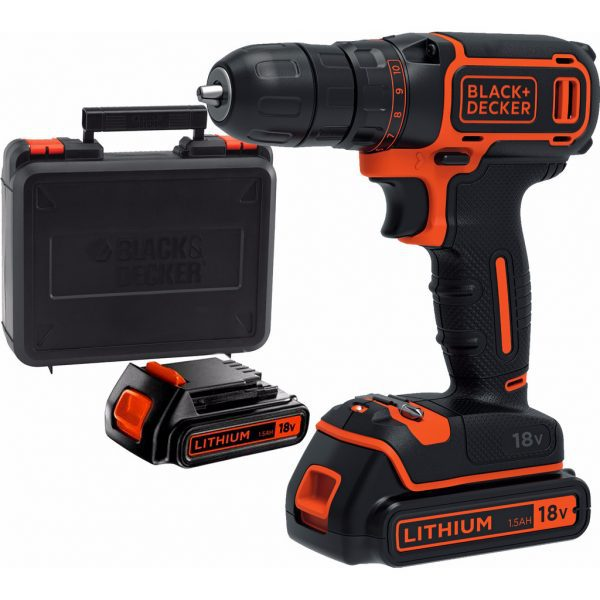 Black & Decker BDCDC18KB-QW accuboormachine
