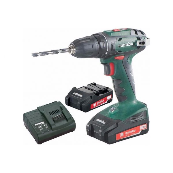 Metabo BS 18 1,3 Ah accuboormachine