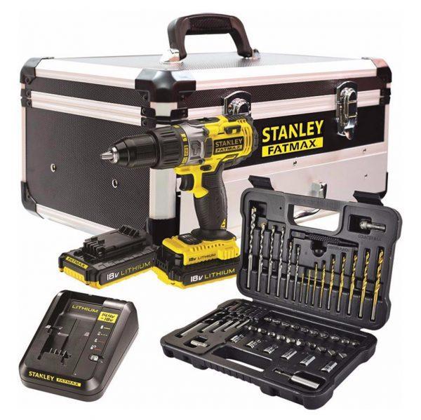 Stanley FatMax FMCK625D2F-QW accu klopboormachine