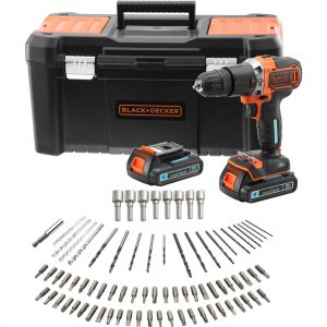 Black en Decker BCD18STD2KA-QW accuklopboormachine
